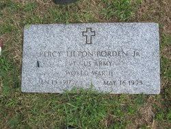 Percy Tilton Borden, Jr