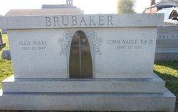 Alice Faye <i>Foley</i> Brubaker