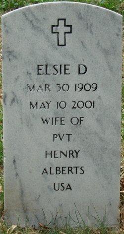Elsie D Alberts
