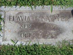 Flavia <i>Tweed</i> Sawyer