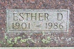 Esther Dorothy <i>Dickman</i> Carr