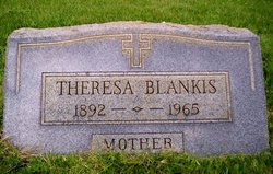 Theresa Mrs. Frank Blankis