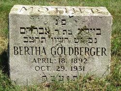 Bertha Goldberger