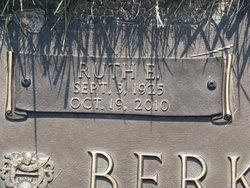 Ruth E Berkhemer