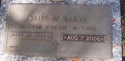 Daisy M Baker