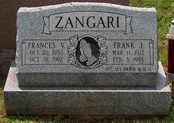 Frances V <i>Jordan</i> Zangari