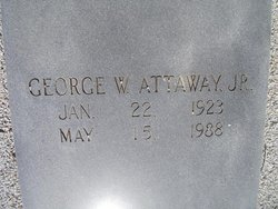 George Walden Attaway, Jr