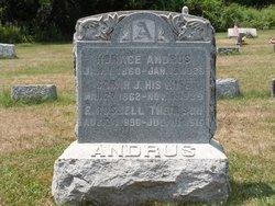 Sarah Jane <i>Reynolds</i> Andrus