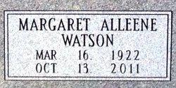 Margaret Alleene <i>Watson</i> Fugate