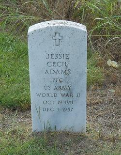 Jessie Cecil Adams