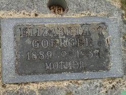 Elizabeth T <i>Winters</i> Goerger