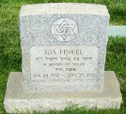 Ida <i>Lemovitsky</i> Finkel