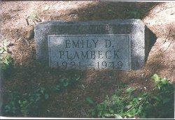 Emily Dorothy Plambeck