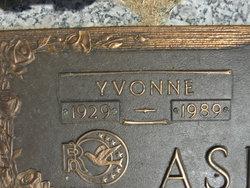 Yvonne <i>Lindley</i> Ashford