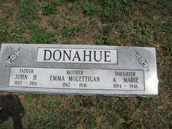 Emma <i>McGettigan</i> Donahue