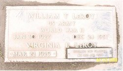 William Thomas Bill LeRoy
