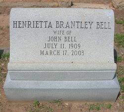 Henrietta Estelle <i>Brantley</i> Bell
