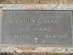 John W. C. Oram