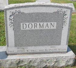 John W Dorman