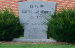 Fairview United Methodist Church Cemetery