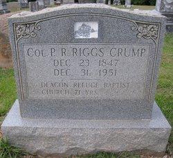 Pleasant Riggs Crump