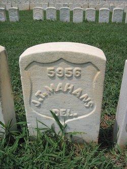 Pvt James T. Mahans