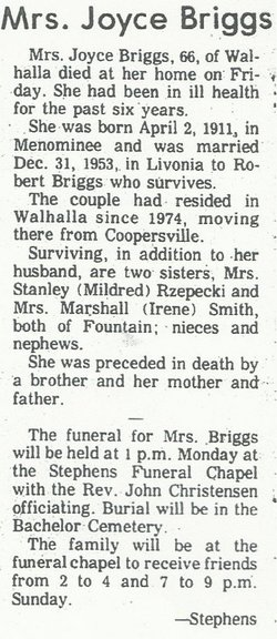 Joyce Briggs