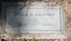 Elva Edith Viola <i>Kiholm</i> Baldwin