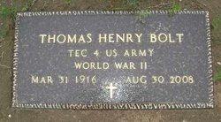 Tommy Bolt