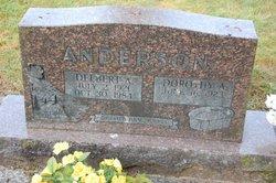 Delbert Arthur Anderson