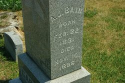 Andrew Jackson A.J. Bain
