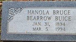 Hanola <i>Claunch</i> Bruce, Bearrow, Buice