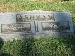 Hannah <i>Holloway</i> Ashman