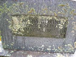 Martha <i>Peterson</i> Adkins