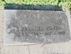 Estelle Frances Bowen