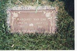 Margaret <i>Voss</i> Van Enk