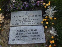 Margaret M Peggy <i>Staples</i> Blair
