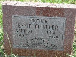 Effie May <i>Osborne</i> Imler