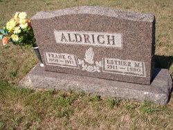 Esther Marie <i>Reppert</i> Aldrich