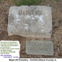 Callie Maye <i>Satterfield</i> Watkins