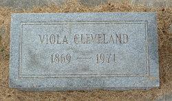 Viola Mae <i>Enochs</i> Cleveland
