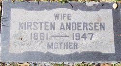 Kirsten <i>Sorensen</i> Andersen