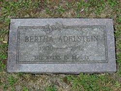 Bertha <i>Goldberg</i> Adelstein