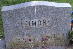 Agnes G <i>Grover</i> Simons