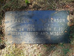 Frances E. <i>Robidoux</i> Patterson