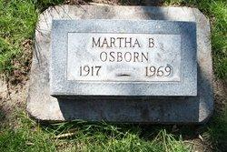 martha belle <i>hodges</i> osborn