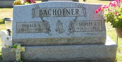 Shirley J <i>Dean</i> Bachofner