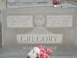 Mattie Mae <i>Kirkland</i> Gregory