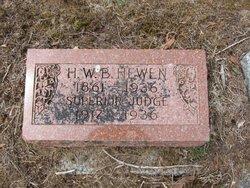 Judge Henry Ward Beecher Hewen