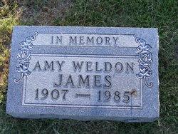 James Amy <i>Weldon</i> James